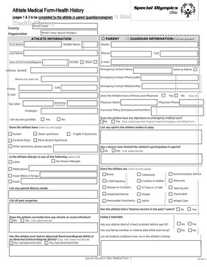 Medical Release Form Image