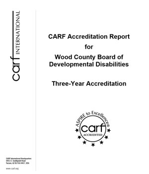 CARF Accreditation Report Image